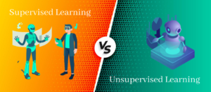 Difference between supervised and unsupervised learning